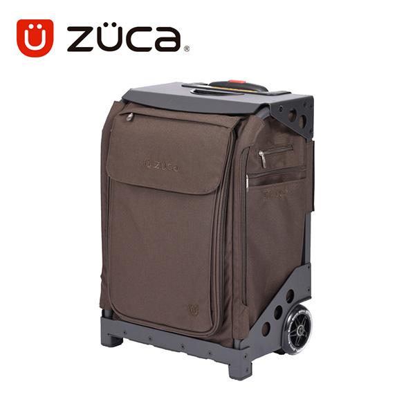 【保証付き正規品】ZUCA FLYER BROWN-LUX Travel ズーカ フライヤー ブラウンラックス トラベル【軽量】【頑丈】【ビジネス】【 ポーチ&トラベルカバー付き 】【 旅行】【 キャリーバッグ スーツケース 】【 SSサイズ 機内持ち込み可能 】