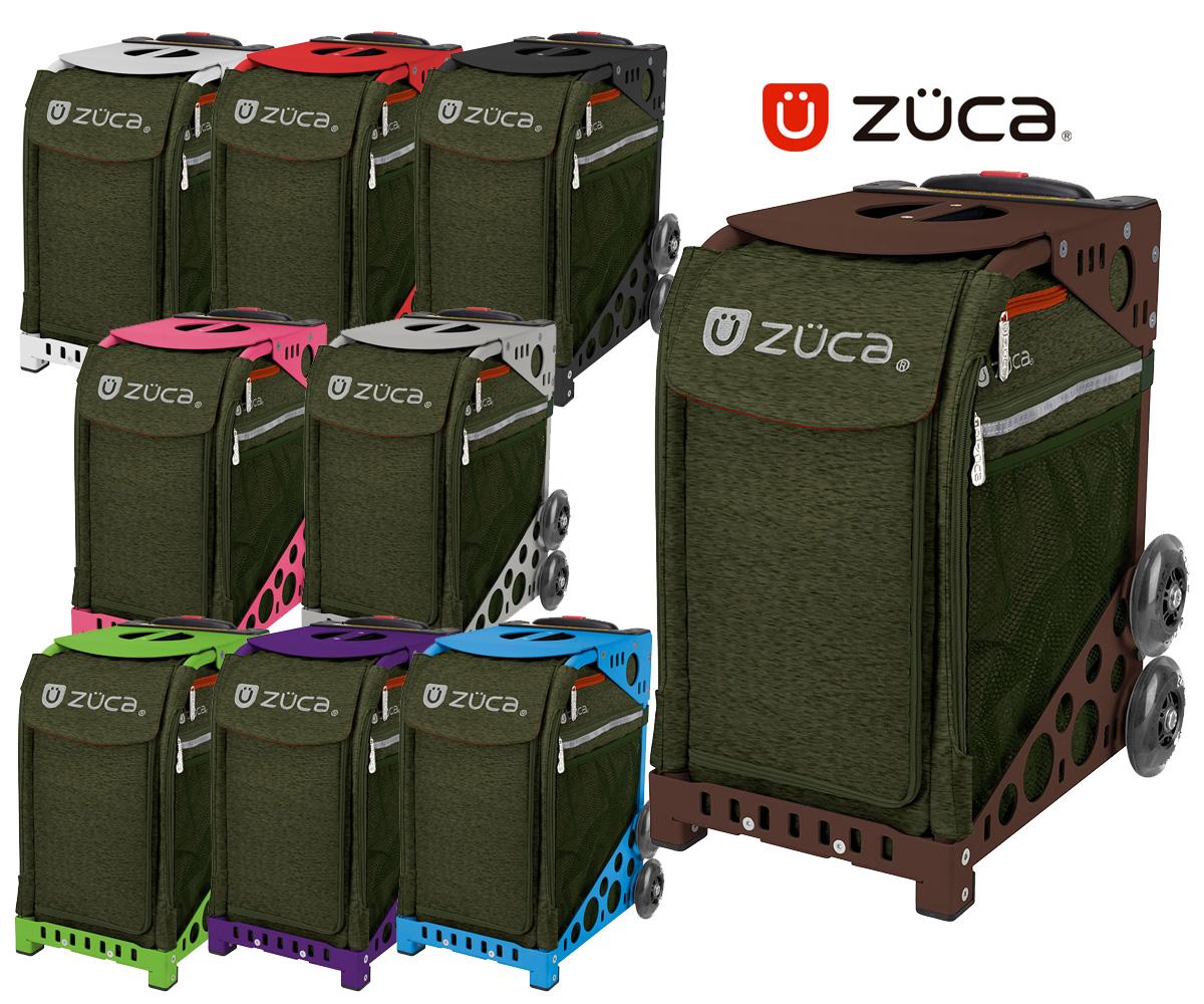 【保証付き正規品】ズーカ スポーツ Forest Green- ZÜCA SPORTS Forest Green-【軽量】【頑丈】【デザイン性】【キャリーバッグ】【椅子】【スケート】【anan】送料無料