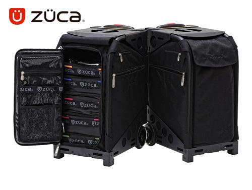 【保証付き正規品】ZÜCA PRO KÜRO-LÜX Travel ズーカ プロ クロラックス トラベル【軽量】【頑丈】【ビジネス】【 ポーチ&トラベルカバー付き 】【 旅行】【 キャリーバッグ スーツケース 】【 SSサイズ 機内持ち込み可能 】送料無料