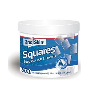 全米で長年の販売実績を誇る SPENCO 手足指等皮膚保護用ゲル 超特価SALE開催 クッションパッド Spenco 手数料無料 セカンドスキン Squares 25mm×25mm 四角形 Skin 200枚 2nd