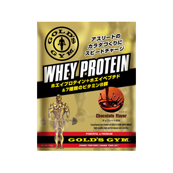 GOLD'S GYM ゴールドジムWHEY PROTEIN CHOCOLATE FLAVOR チョコレート風味(1500g)