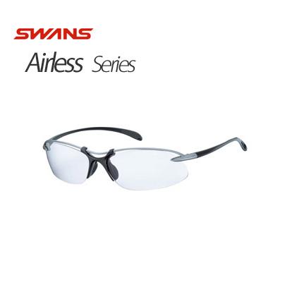 SWANS スワンズ Airlessシリーズ Airless-Wave SA-506 (LSIL)エアレス ウェイブ (ライトシルバー/ガンメタリック)【サングラス】