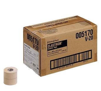 ジョンソン&ジョンソンエラスティコン(ELASTIKON) 伸縮性粘着テープ・ハードタイプ50mm(24本入り), サマニグン:a83a3f1a --- sunward.msk.ru