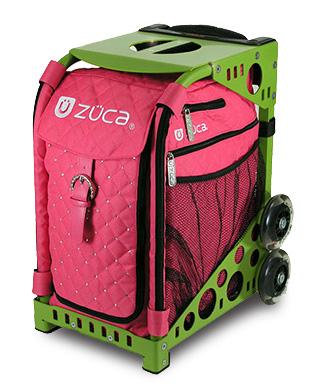 【保証付き正規品】ズーカ スポーツ Hot Pink- ZÜCA SPORTS Hot Pink -【軽量】【頑丈】【デザイン性】【キャリーバッグ】【椅子】【スケート】【anan】送料無料