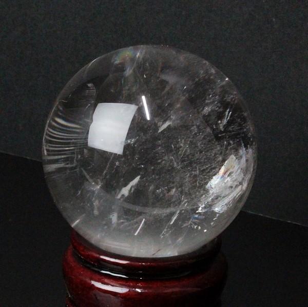 【大きい 60mm】 天然 水晶玉|クリスタル クォーツ すいしょう Crystal Quartz【Crystal ball 球体 置物 大玉 ルース 丸玉 原石 Gemstone 水晶玉 Ruth】メンズ Men's レディース Ladies 限定 一点物 水晶玉