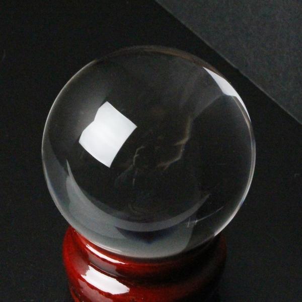 【完全透明 50mm】 水晶玉 天然 クリスタル 水晶 Crystal クォーツ Quartz【Ball 原石 Gemstone ball 丸玉 Circle 球体 置物 大玉 ルース】メンズ Men's レディース Ladies 限定 一点物 水晶玉