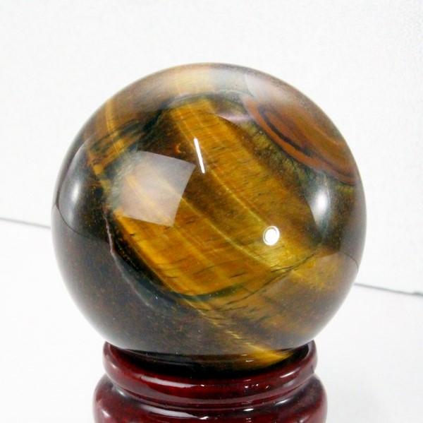 【大きい 54mm玉】タイガーアイ 丸玉 タイガーアイ 虎目石 Tigereye【丸玉 Circle Ball 原石 Gemstone 水晶玉 Crystal ball 球体 ルース】メンズ レディース 限定 一点物 タイガーアイ