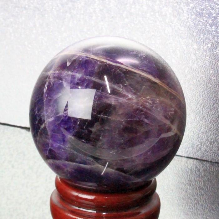 【57mm玉】アメジスト 丸玉 アメシスト 紫水晶 Amethyst【丸玉 Circle Ball 原石 Gemstone 球体 ルース】メンズ レディース パワーストーン 天然石 海外直輸入価格 アメジスト