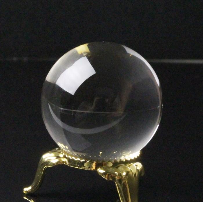 【34mm玉】水晶玉 天然石|Crystal クォーツ すいしょう Quartz クリスタル 水晶【水晶玉 球体 置物 ルース 丸玉 Circle Ball 原石 Gemstone】メンズ レディース パワーストーン 天然石 海外直輸入価格 水晶玉