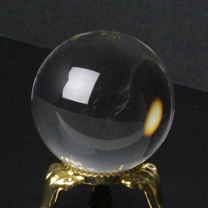 【34mm玉】水晶玉 天然石|Crystal クォーツ Quartz クリスタル 水晶【水晶玉 球体 置物 大玉 ルース 丸玉 Circle Ball 原石】メンズ レディース 一点物アイテム 天然石 水晶玉