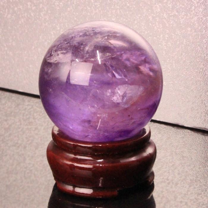 【48mm】アメジスト 丸玉|紫水晶 Amethyst アメシスト アメジスト【原石 Circle Ball 球体 水晶玉 Ruth Sphere Crystal ball ルース Gemstone】メンズ レディース 限定 一点物 パワーストーン アメジスト