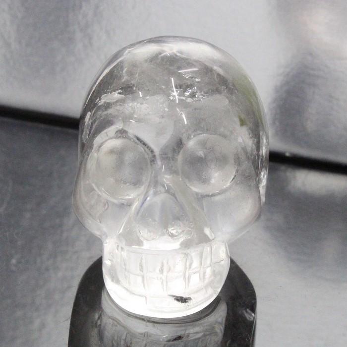水晶 ドクロ|Crystal クリスタル クォーツ すいしょう Quartz 水晶【スカル 頭蓋骨 しゃれこうべ 彫刻 置物 スケルトン 髑髏 ドクロ Scull Skeleton 原石 Gemstone】メンズ レディース 一点物 パワーストーン 水晶