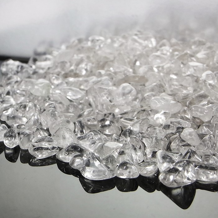 200 g of crystal さざれ large drop of | Crystal for the pebble purification  for the purification crystal pebble purification grain great great