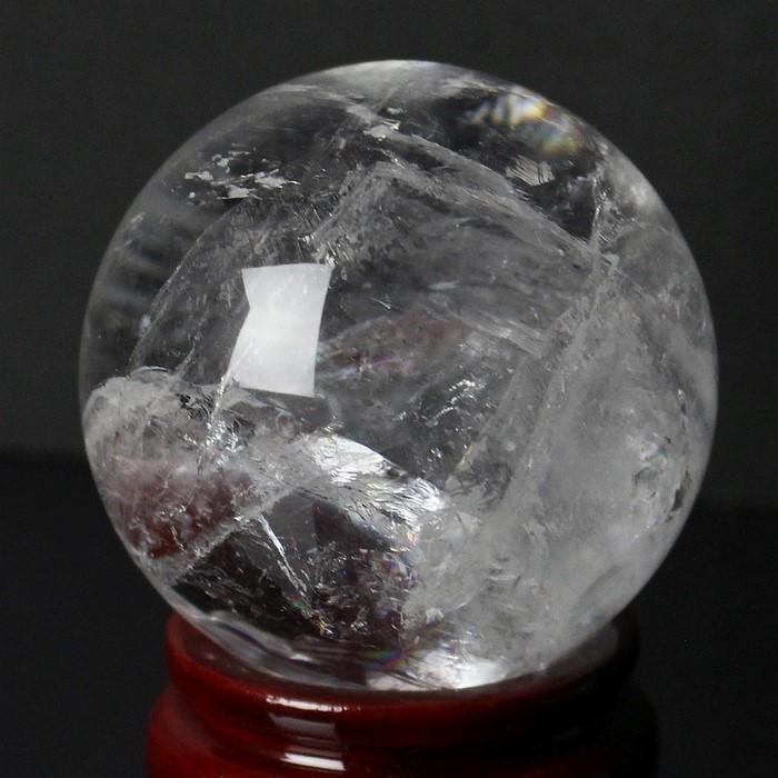 【56mm】水晶 丸玉|Crystal Quartz ロッククリスタル 石英 クリスタル クォーツ 水晶【丸玉 Circle Ball 原石 Gemstone 水晶玉 Crystal ball Sphere 球体 置物 大玉 ルース Ruth】メンズ レディース 一点物 パワーストーン 水晶