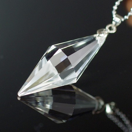 Crystal necklace recommendation transparence crystal necklace pendant |  Crystal Crystal Quartz crystal quartz quartz men Men's Lady's Ladies nature