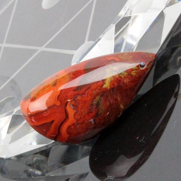 戦国紅瑪瑙 ルース 瑪瑙 メノウ 戦国紅 赤【ルース ネックレス 原石 ペンダントトップ 】 限定 戦国紅瑪瑙 [海外直輸入価格 おすすめ 天然石 パワーストーン販売 LuLu House]