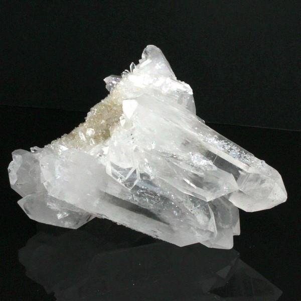 水晶 クラスター|石英 クリスタル Crystal クォーツ Quartz【Gemstone クラスター 石 原石 Stone Cluster】メンズ レディース パワーストーン 天然石 海外直輸入価格 水晶