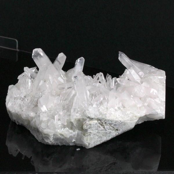 水晶 クラスター|クリスタル 石英 水晶 Crystal クォーツ Quartz【原石 Gemstone クラスター ポイント 石 クラスタ Stone Cluster】メンズ Men's レディース Ladies 限定 一点物 水晶