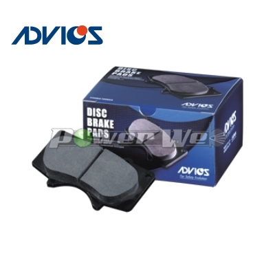 [SN645P] ADVICS 補修用ブレーキパッド フロント用 イプサム 2000 96.05-01.05 SXM10G/SXM15G:パワーウェブ2号店