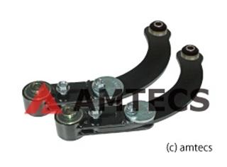 [67452] AMTECS 三菱 ギャラン フォルティス CX4A/CY4A キャンバー調整式リアアッパーアーム