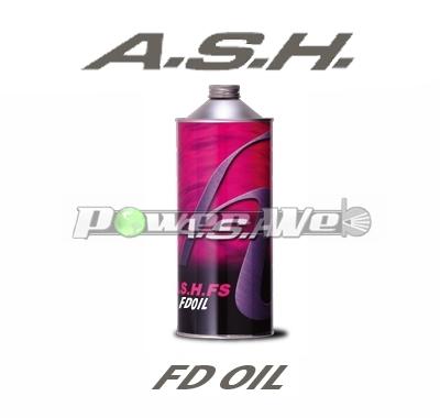 ASH / FD フォークオイル #30 合成油 30.2 [1L×12本(1ケース)]