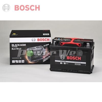 [BLA70L3] BOSCH BLACK AGM 輸入車用バッテリー [BLA-70-L3] ※保証付き