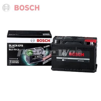 [BLE70L3] BOSCH BLACK EFB 輸入車用アイドリングストップ対応バッテリー [BLE-70-L3] ※保証付き