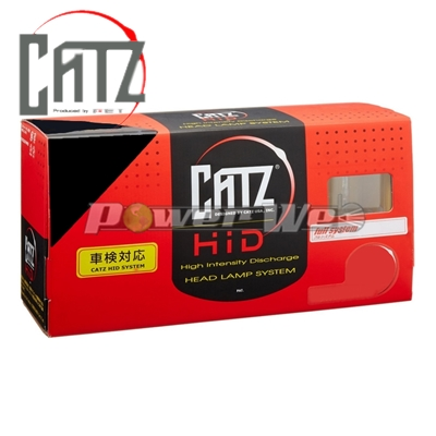 [AAFX203] CATZ / ゼルク 30W フォグHIDシステム ライジングイエロー 3300K H3C
