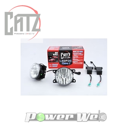 [AKH14A] CATZ LED FOG TYPE1 for トヨタ86/スバルBRZキット 6000k