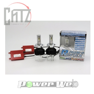 [CLC30] CATZ LED REFLEX ヘッドライトコンバージョンキット リフレクスプラス 6000K H4切替タイプ