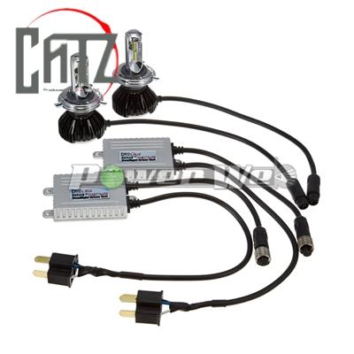 [CLC15] CATZ / REFLEX LED ヘッドライト専用キット 軽貨物用 H/L-K(ハイロー切替) 6000K H4