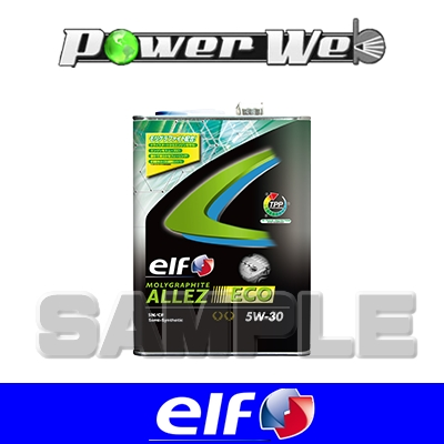 [182448] ELF MOLYGRAPHITE ALLEZ ECO 5W-30 部分合成油 API:SN/CF エンジンオイル 20L(ペール)