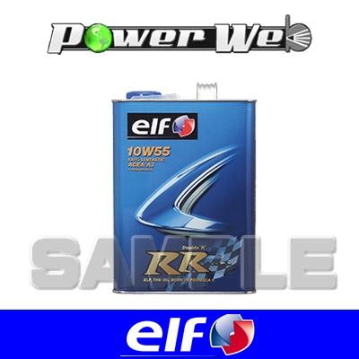[171693] ELF RR (DOUBLE R) 10W-55 全化学合成油 ACEA:A3 エンジンオイル 20L(ペール)