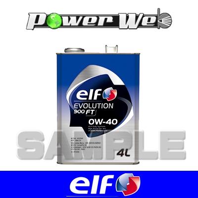 [198834] ELF EVOLUTION 900 FT 5W-40 全化学合成油 ACEA:A3/B4.API:SN/CF エンジンオイル 20L(ペール)