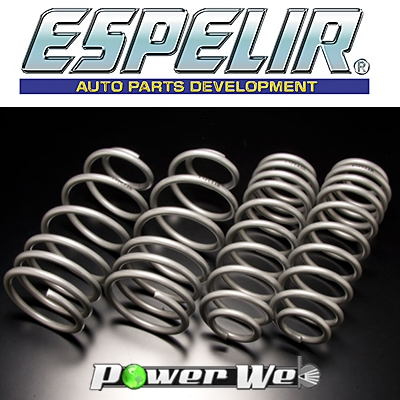 [ESL-033] ESPELIR / スーパーダウンサス 輸入車用 メルセデスベンツ C200 C220 C230 W202 96/1~00/5 後期専用 4Dr SEDAN