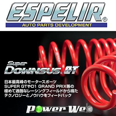 [ESN-572] ESPELIR / スーパーダウンサスGT ニッサン フェアレディZ Z33 H14/8~ VQ35DE AT車専用