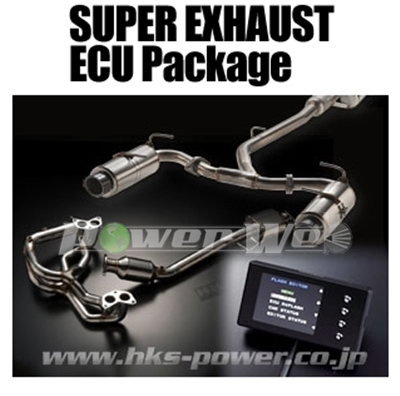 [33009-AT004] HKS SUPER EXHAUST ECU PACKAGE (LM SPORTS) 86 ZN6 FA20 12/04~