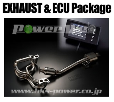 [33009-AF008] HKS EXHAUST ECU PACKAGE インプレッサ GVF EJ257 10/07~14/08