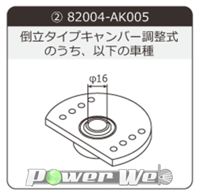 [82004-AK005] HKS 車高調パーツ スフェリカル倒立調整式Type2