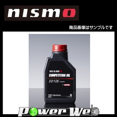 NISMO (ニスモ) MOTUL製 COMPETITION OIL type 2212E 15W50 化学合成油 エンジンオイル 1ケース(1L×6個入) [KL150-RS531]
