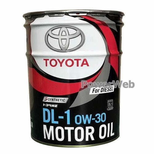 トヨタ純正オイル CASTLE (キャッスル) DL-1 ディーゼルエンジンオイル 0W-30 20L