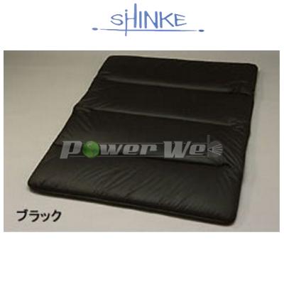 SHINKE / フルフラットマット [ブラック] ダブル低反発タイプ(コットン/レザータイプ) テラノ R50 前期/後期