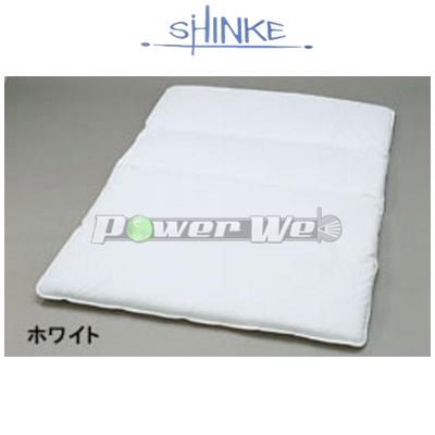 SHINKE / フルフラットマット [ホワイト] 低反発タイプ(コットン/レザータイプ) エブリィワゴン DA17W
