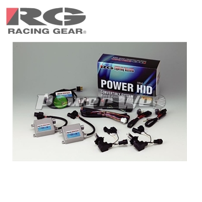 [RGH-CB964] RACING GEAR HIDシステム VR4シリーズ 12V用 H7 6500K