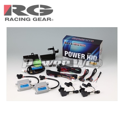 [RGH-CB956H] RACING GEAR 200系ハイエース H16/8~H25/11(1~3型) ヘッドライト専用 HIDシステム H4切替 5500K