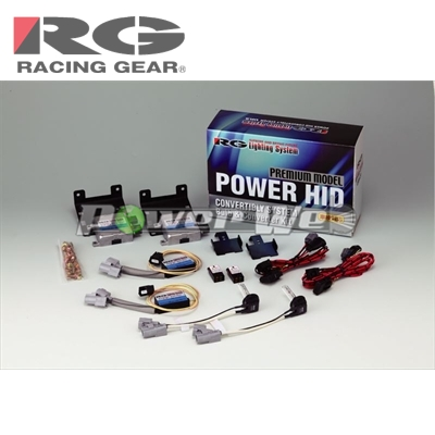 [RGH-CBP57P] RACING GEAR 30系プリウス/40系プリウスα ロービーム専用 HIDシステム H11 5500K