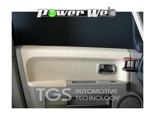 [TGS-RS401S] TGS リプレイスメントスキン フルセット レギュラーカラー (ブラック×シルバー) デリカD:5 CV4W / CV5W
