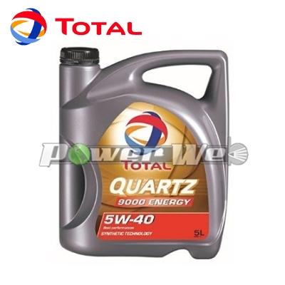 [174295] TOTAL QUARTZ 9000 ENERGY 5W-40 エンジンオイル A3/B4, SM/CF [20L缶 (ペール缶)]