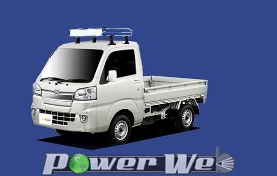 [CF326A] TUFREQ (精興工業 タフレック) トラック用キャリア Cシリーズ ハイゼットトラック S5# H26.9~ 標準ルーフ 【沖縄/離島発送不可商品】
