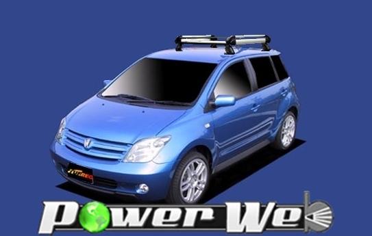 [HE22B1] TUFREQ (精興工業 タフレック) ルーフキャリア Hシリーズ トヨタ ist 全車 H14.5~H19.7 NCP60/NCP61/NCP65 【沖縄/離島発送不可商品】